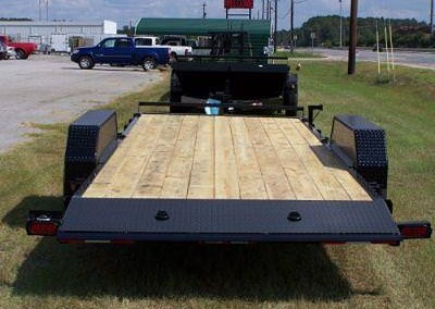 Tilt Deck Tailers - Down to Earth Trailers