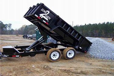 Dump Trailers - Down to Earth Trailers